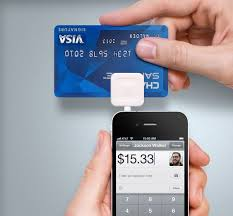 The Square and it's app. Turns your cell phone into a credit card processor (for a small fee of course).