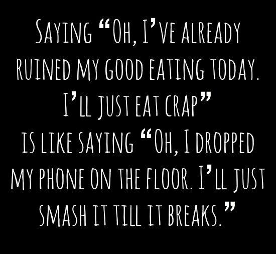 eat crap